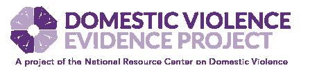 DV Evidence Project Logo